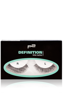 definition false lashes
