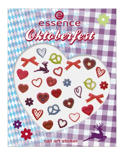 essence Oktoberfest Nail Art Sticker