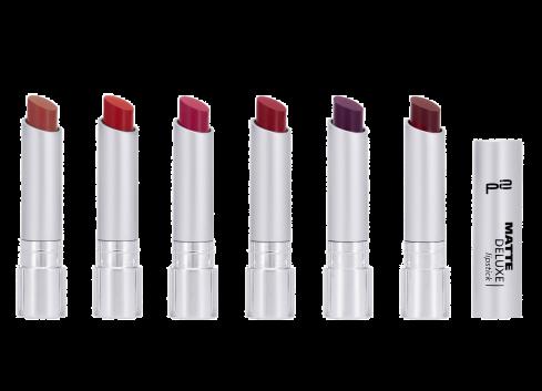 matte deluxe lipstick 010 020 030 040 050 060 Gruppe_neu