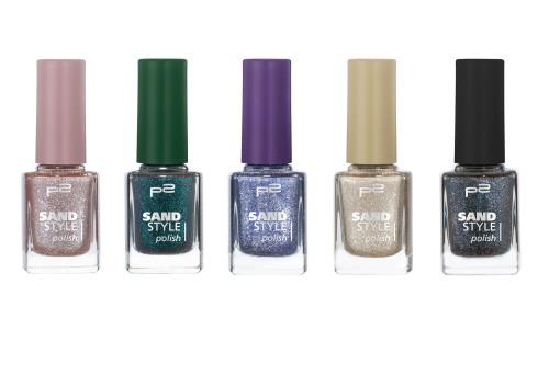 sand style polish 070 080 090 100 110 Gruppenbild