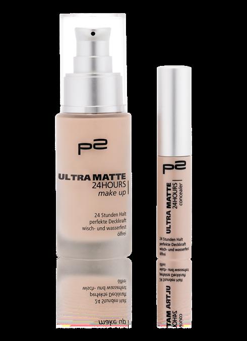 ultra matte 24 hours make up + concealer Gruppenfoto